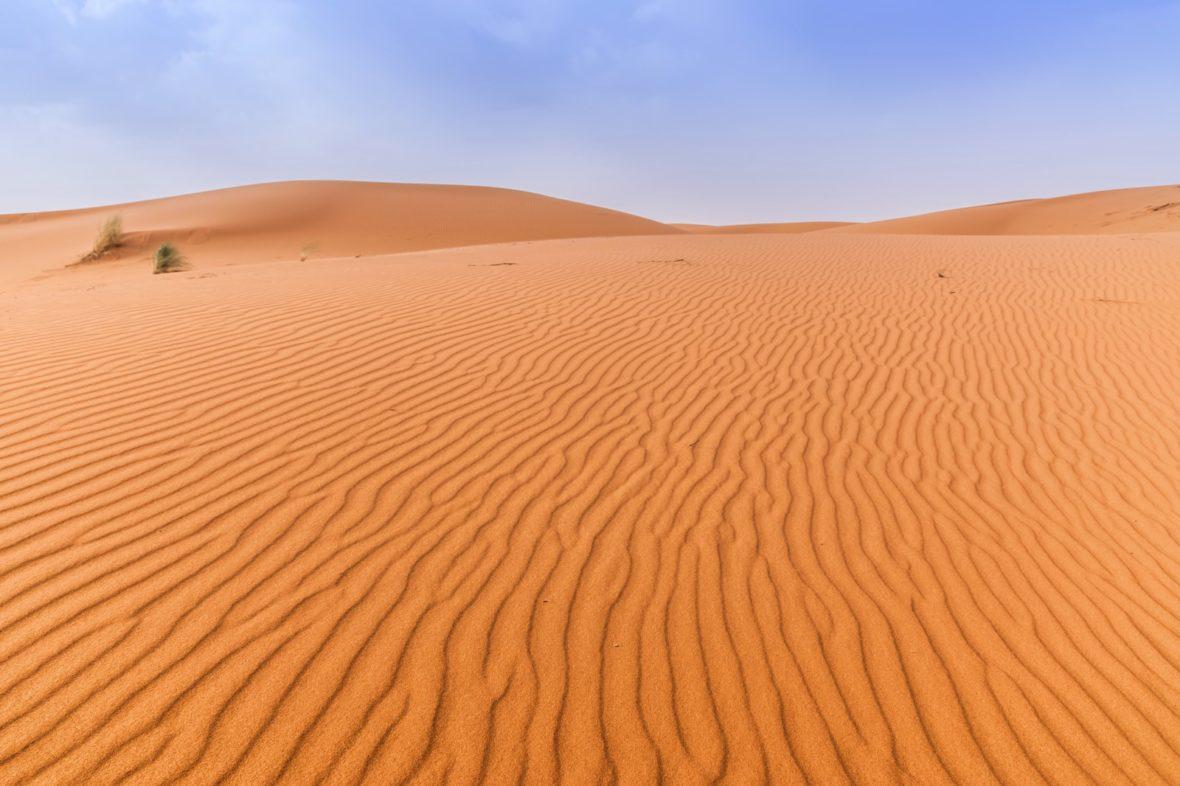 Challenge dans le désert Marocain